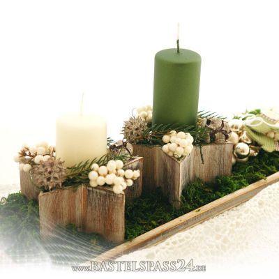 tischdeko weihnachten selber machen dekorieren im. Black Bedroom Furniture Sets. Home Design Ideas