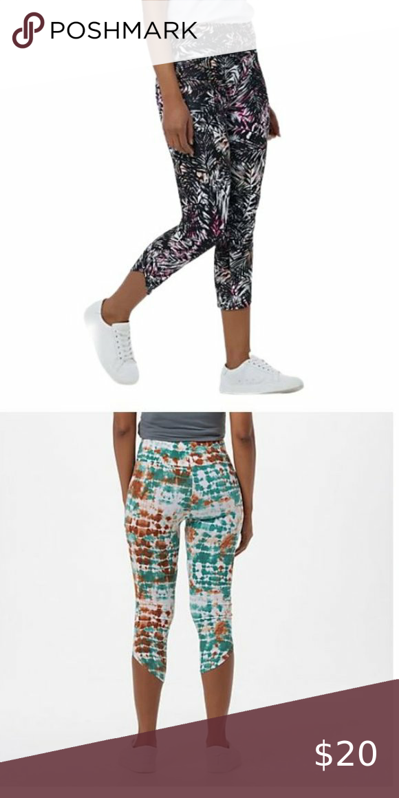 Check out this listing I just found on Poshmark: Cuddl Duds Flexwear Cropped Leggings 6749. #shopmycloset #poshmark #shopping #style #pinitforlater #Cuddl