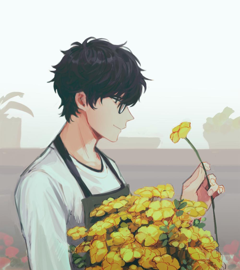 Persona 5 Joker, Anime Flower