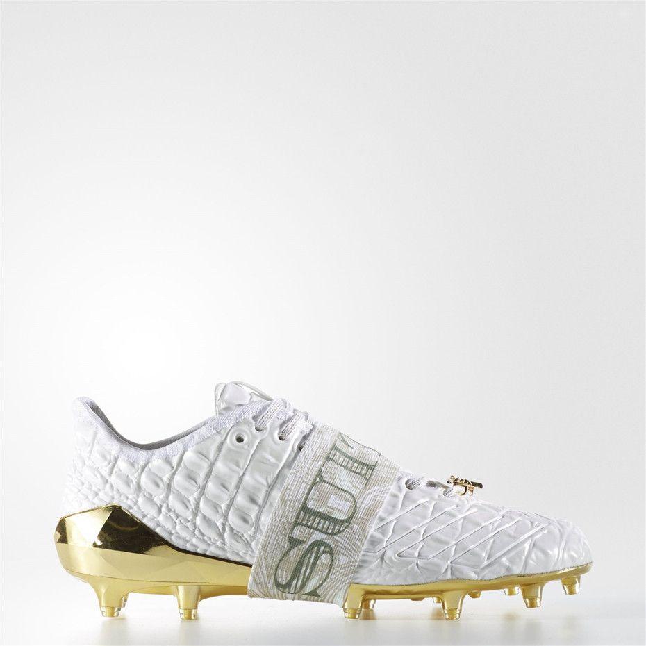 9d2201f456da Adidas adizero 5-Star 6.0 Snoop Cleats (Running White Ftw / Running White /  Metallic Gold)