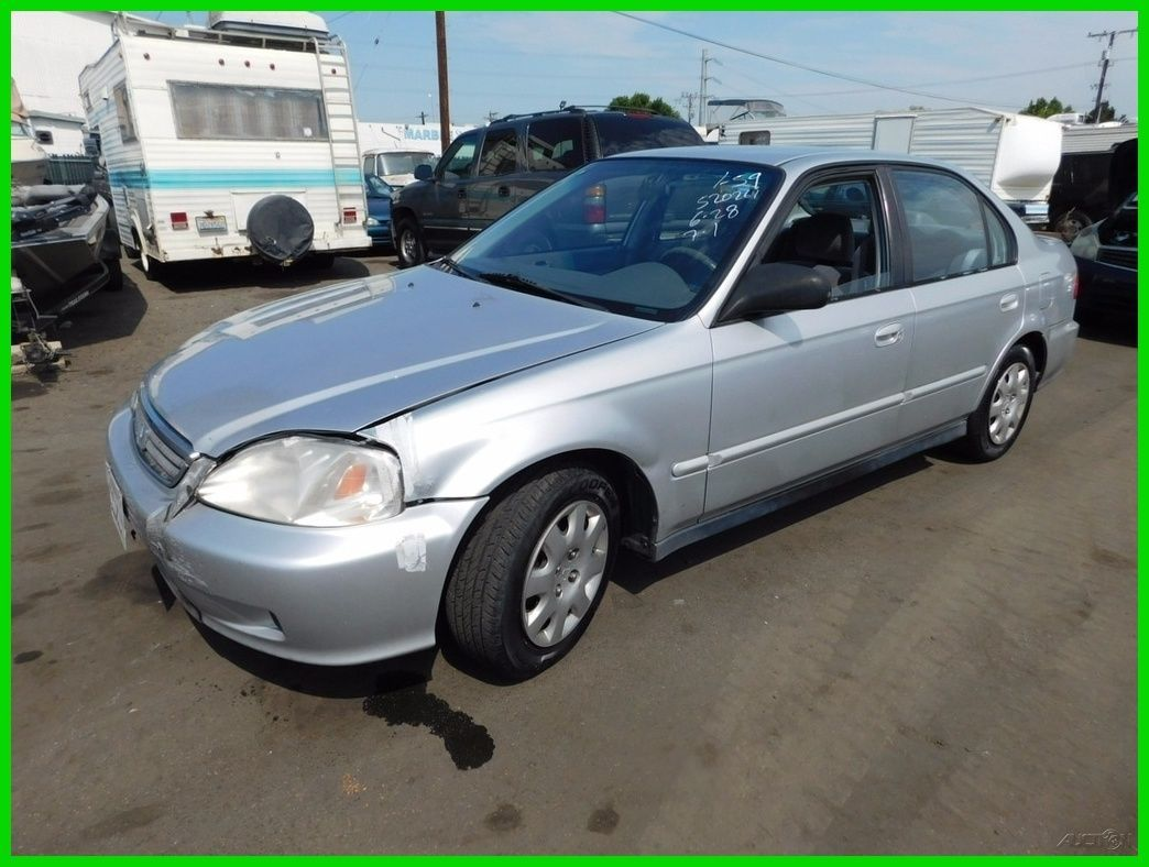 Car Brand Auctioned Honda Civic Value Package C 2000 Honda Civic 1 6l I4 16v Automatic Sedan No Reserve Auction Cars 2000 Honda Civic Honda Civic Car Brands