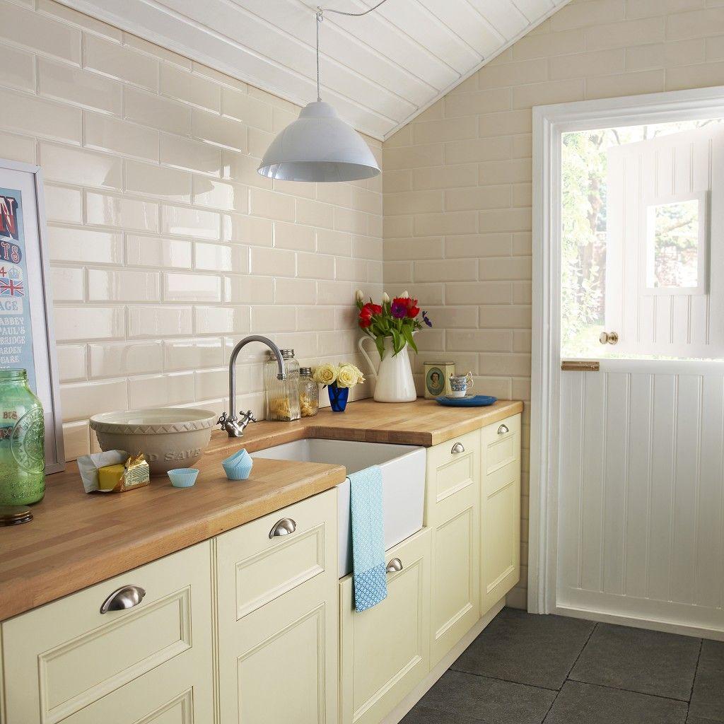 Edge Tile Red (200mmx100mm) - Metro - Kitchen Wall Tiles - Kitchen ...