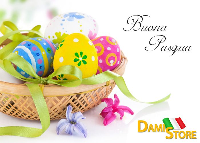 Vogliamo augurarvi una Buona Pasqua a tutti, da tutto lo Staff #damistore #buonapasqua