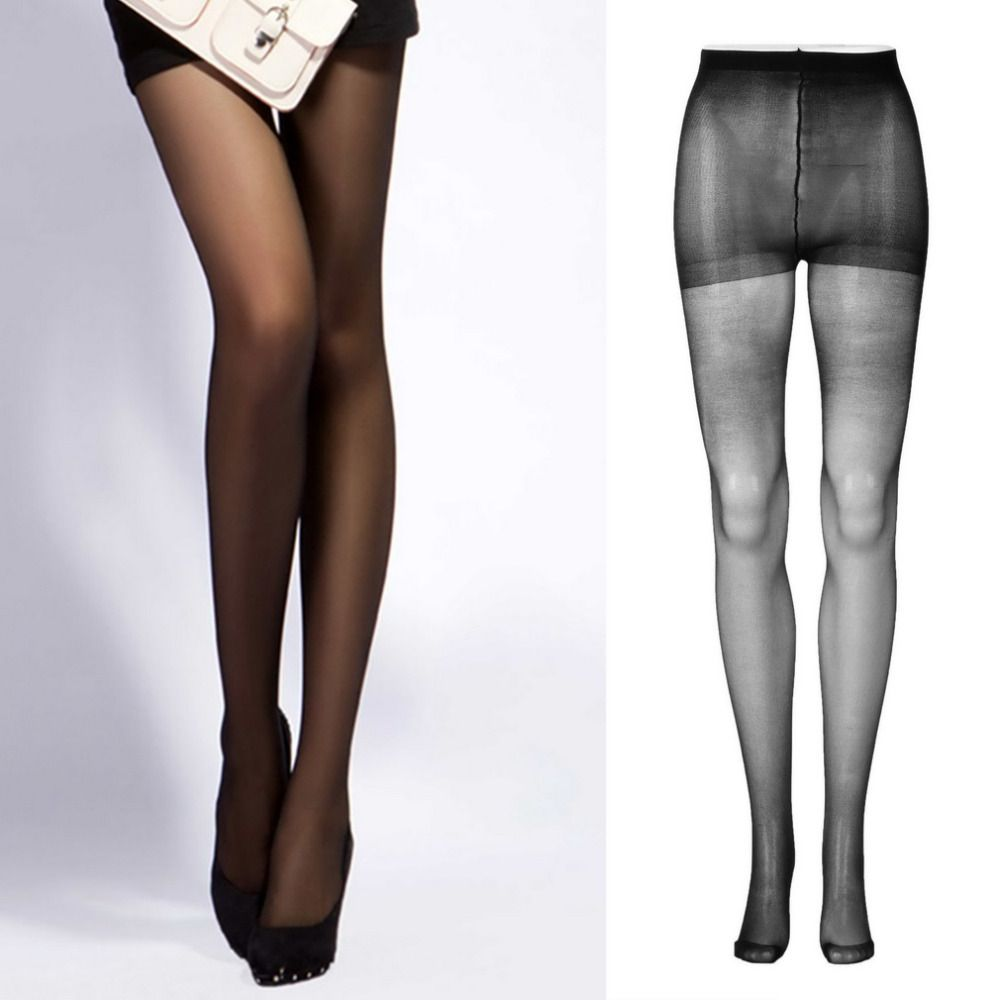 1pc High Quality Sexy Lady Women Full Foot Transparent Tights Pantyhose Long Stockings thin Semi Sheer Tights Pantyhose Panties