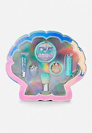 mermaid shell cosmetic kit  unicorn makeup cosmetic kit