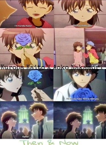 Then and Now ( Magic Kaito )