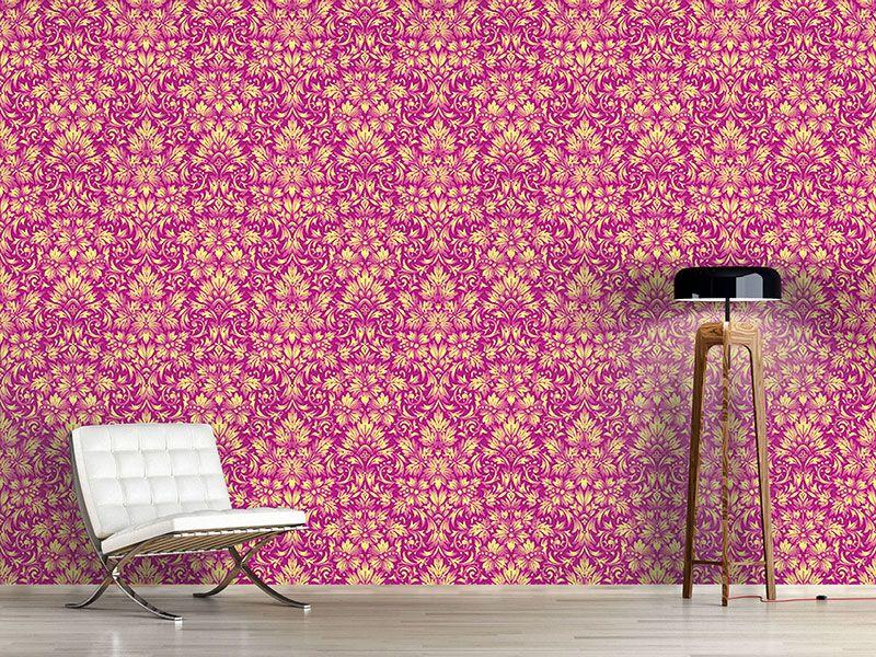 Design #Tapete Leuchtendes Barock