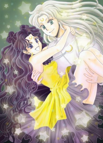 Sailor Moon Luna And Artemis In Human Form Sailor Moon