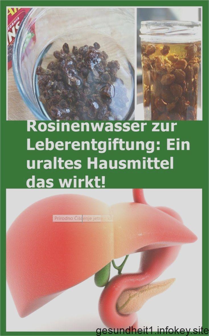 Entgiftung Leber