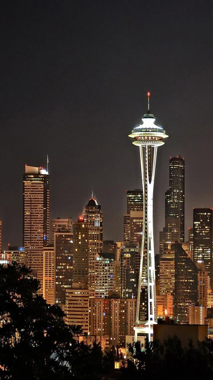 Seattle Wa View Wallpaper City View City