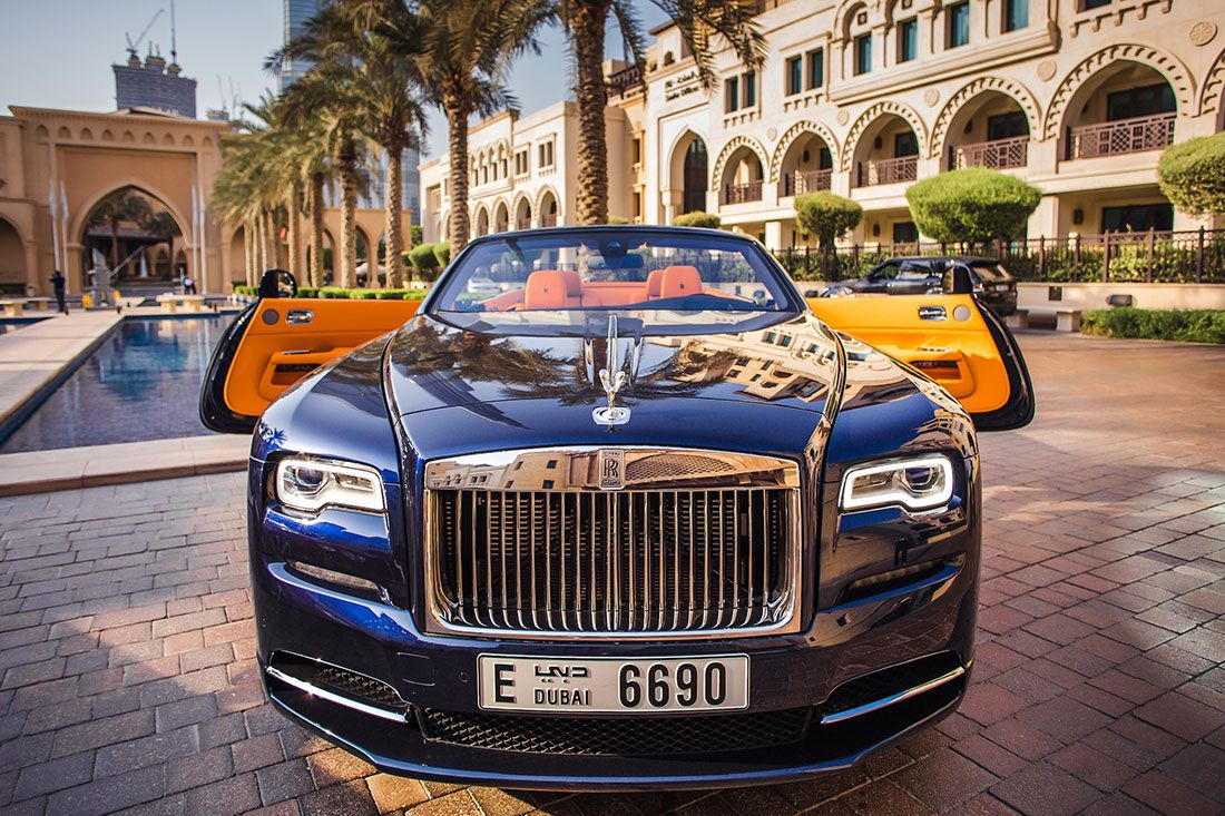 Rolls Royce Dawn For Rent In Dubai Rolls Royce Dawn Rolls Royce Sports Car Rental