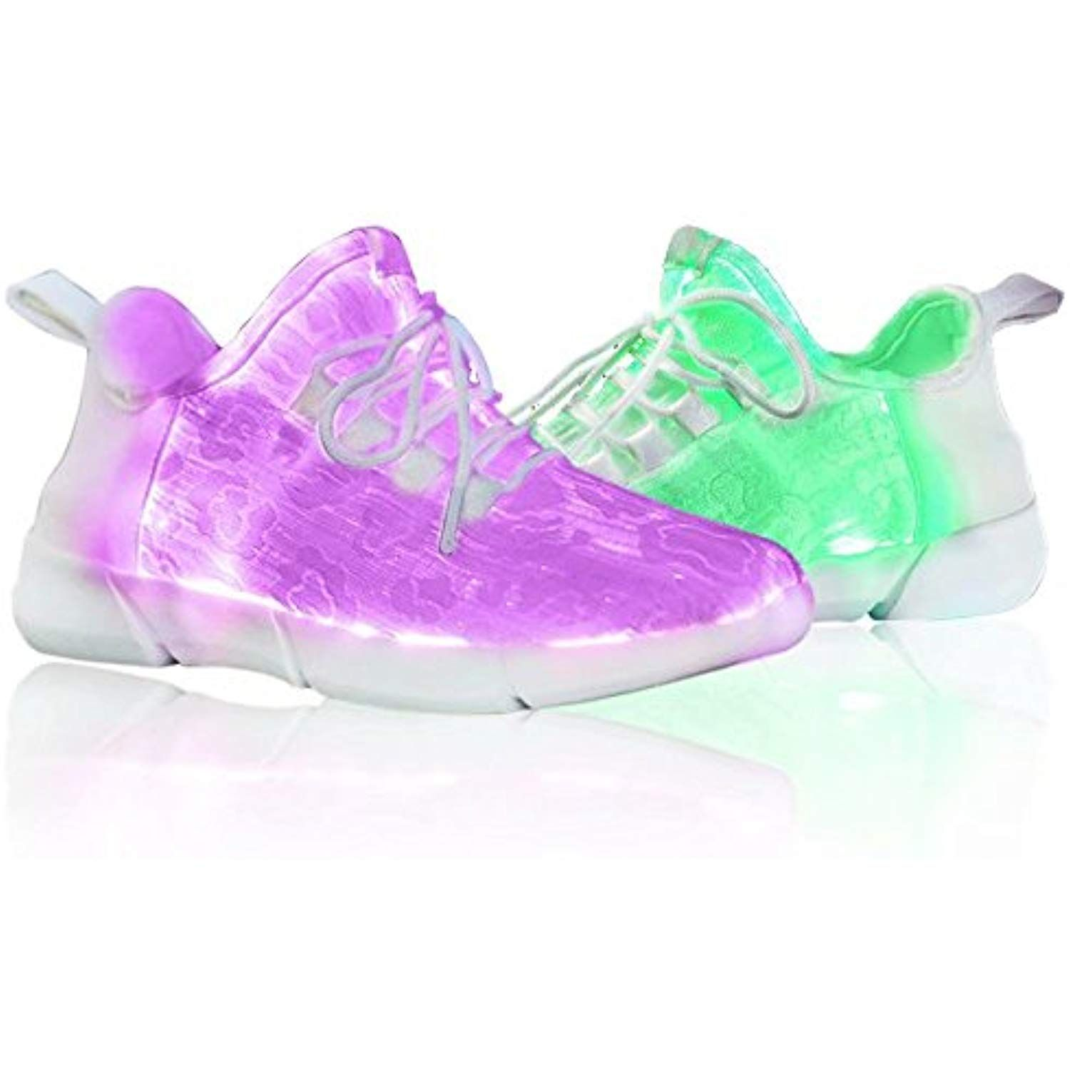 136f0575aad4 Fiber Optic LED Shoes Flashing Fashion Sneaker for Women Men USB  Rechargeable with 12 Color Changed     Details can be found by clicking on  the image.