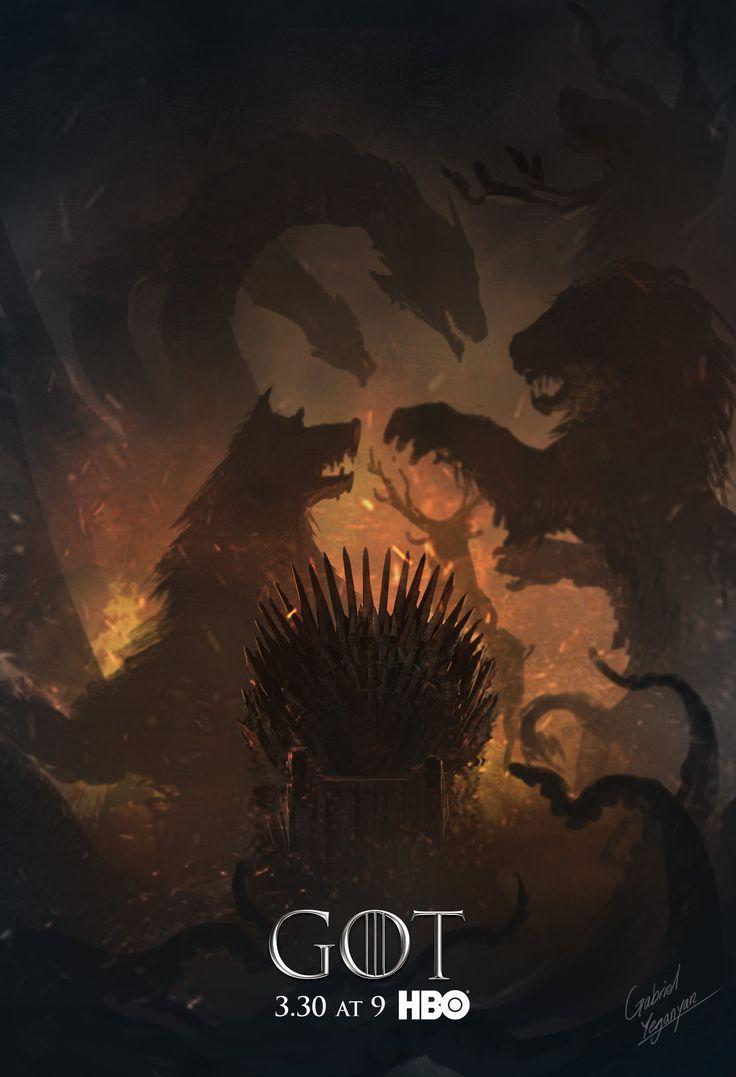 Resultado De Imagen Para Game Of Thrones Fan Art Season 8 Game Of