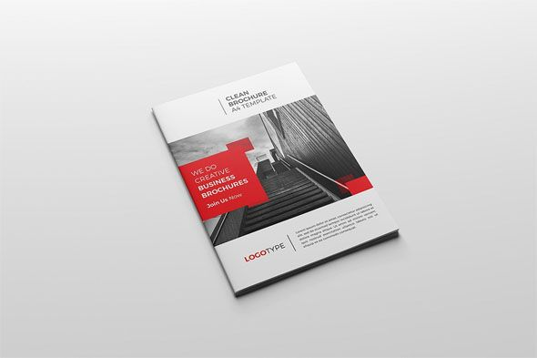 Corporate Bi Fold Brochure Template Free Bifold Design A4 Size