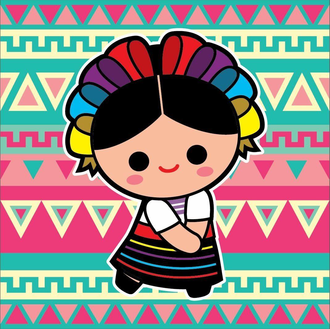 Munequita Munecas De Trapo Mexicanas Munecas Mexicanas Produccion Artistica