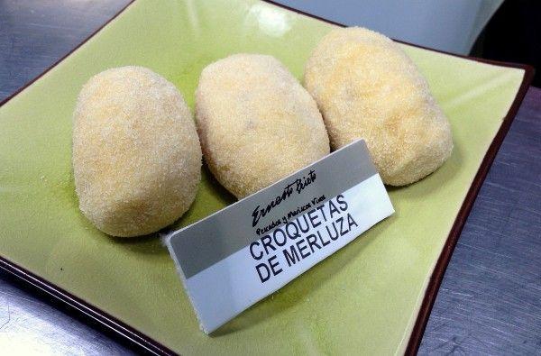 Croquetas de merluza Pescadería Ernesto Prieto