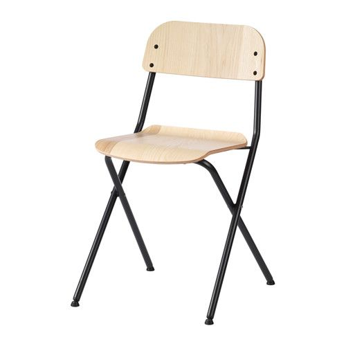 VASSAD Folding Chair IKEA Foldable Which Makes It Easy To Store No