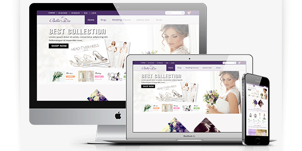 Wedding magento Theme