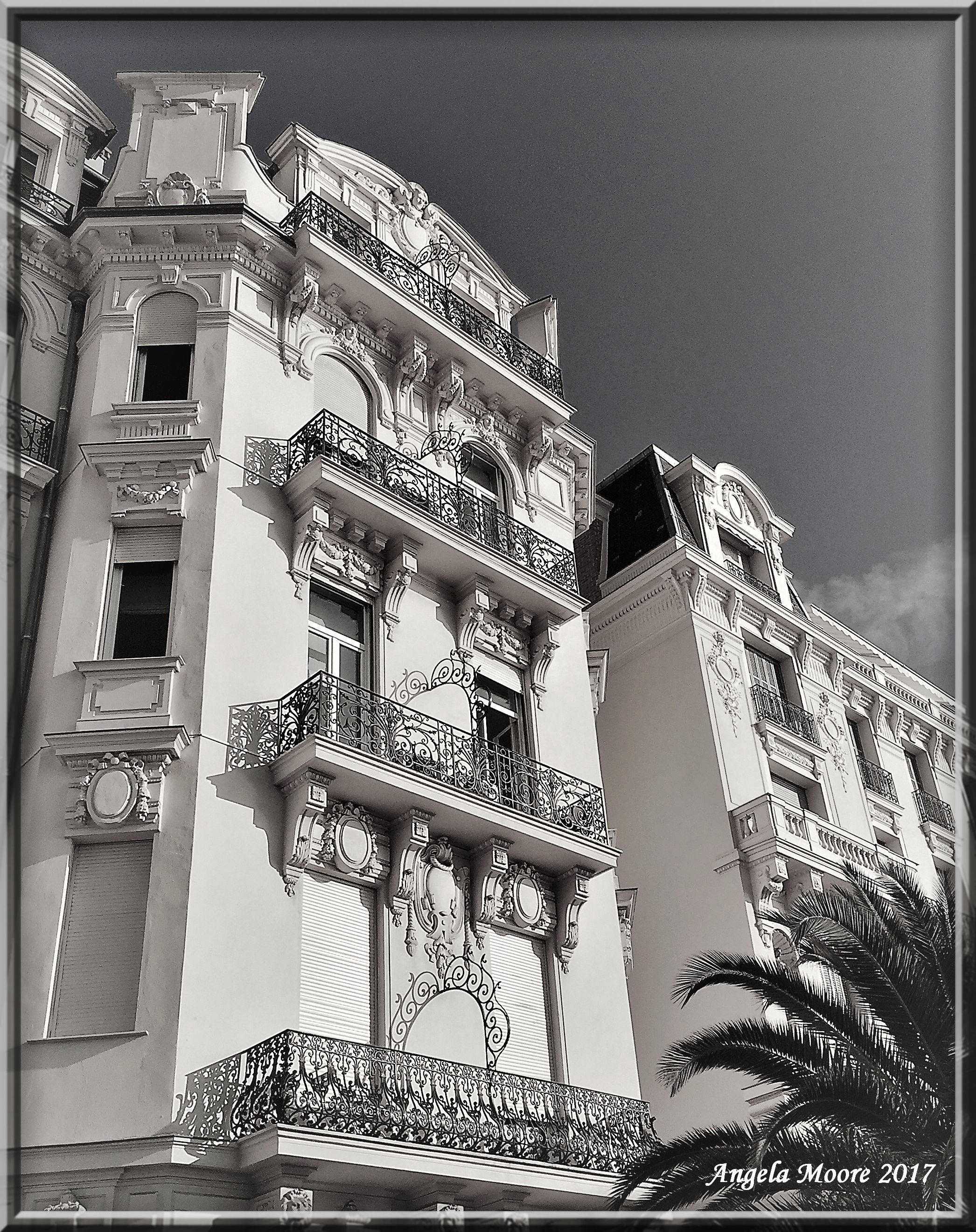 Black & White Photographs By Angelamoorenovelist Lace Balconies, Promenade Des
