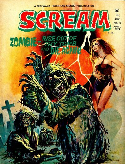 Cover for Scream (1973 series) #5