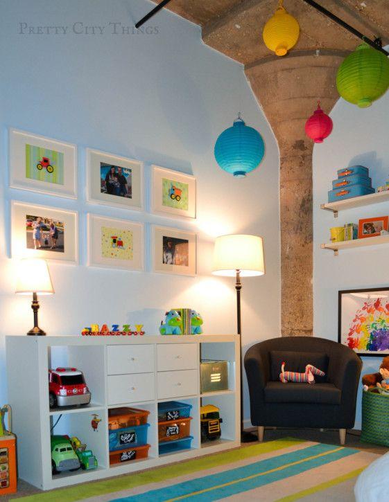 Sebastian 39 s colorful big boy room boys room and doors - Boys bedroom ideas ikea ...