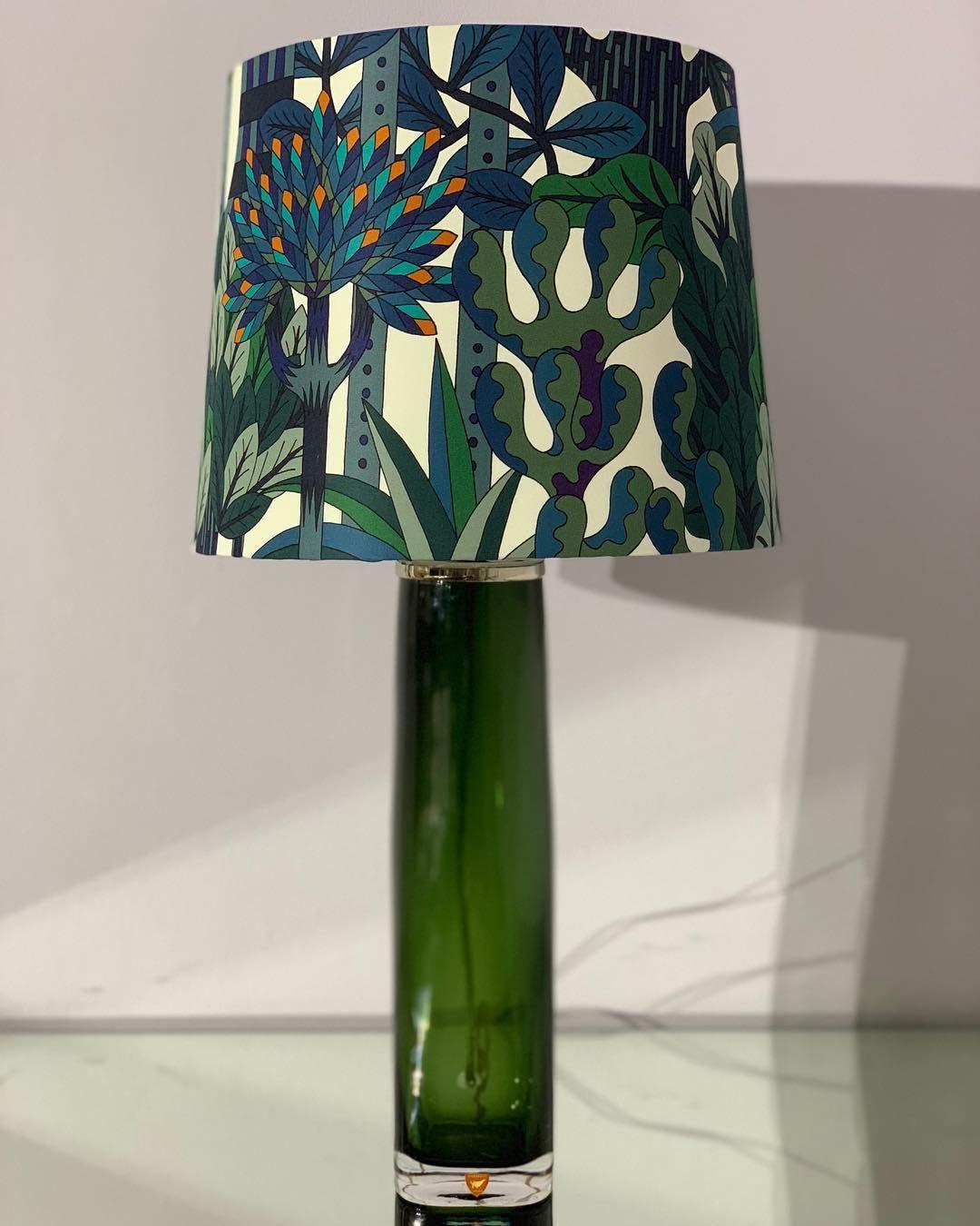 Carl Fagerlund Orrefors Hermes Lampshade Molamps Lamp Lamp Shade Novelty Lamp