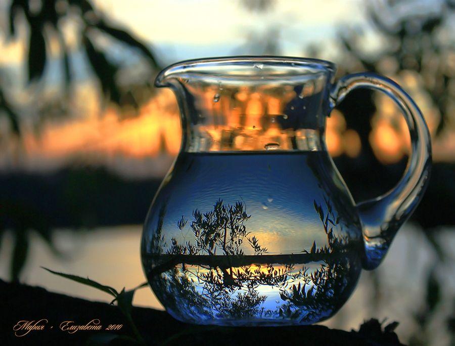 Whimsical world of reflections by Mariya Luiza