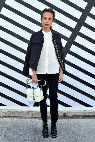Alicia Vikander - Paris Fashion Week: Front Row And Parties | British Vogue