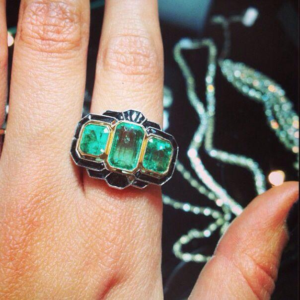 Emeralds via gem gossip.