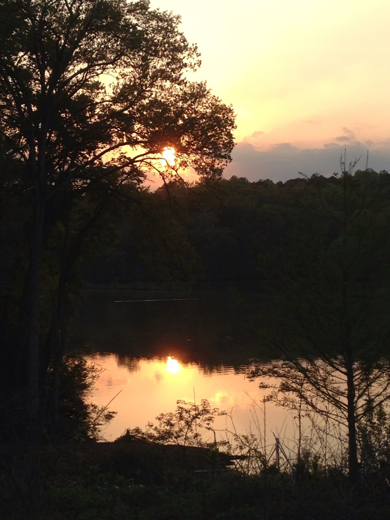 Raw picture of sunset at a lake Raw pictures, Sunset
