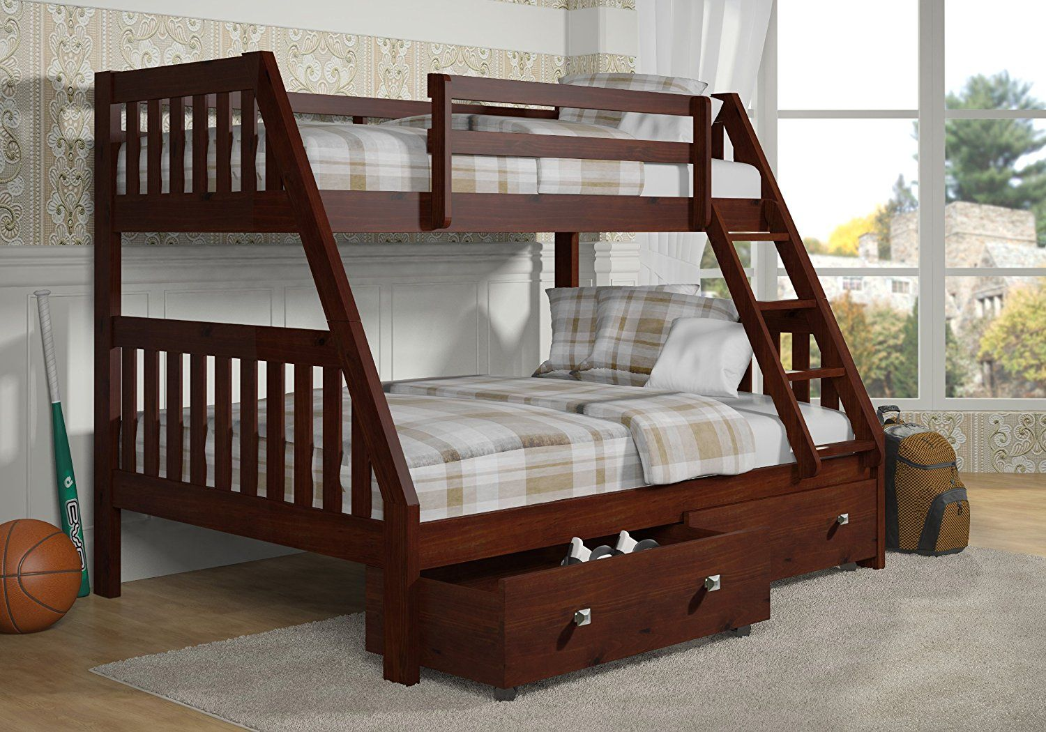Twin Over Full Bunk Bed Wood - Best Paint for Interior Walls Check ...