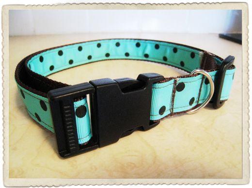crafy girl {DIY dog collar}