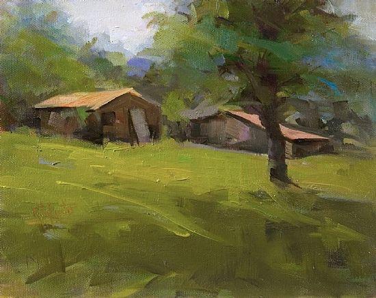 Rita Curtis Oil ~ 8 x 10