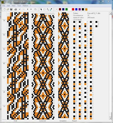15 around. Page full of patterns | Jewelry Loom Beading | Pinterest ...