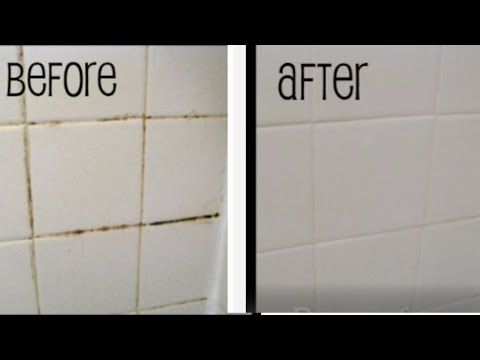 Easy Grout Bathtub Cleaning Tip Mamiposa26 Youtube Cleaning