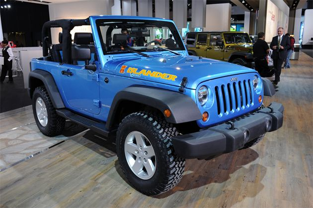 Detroit 2010: Jeep Wrangler Islander and Mountain fill out the range ...