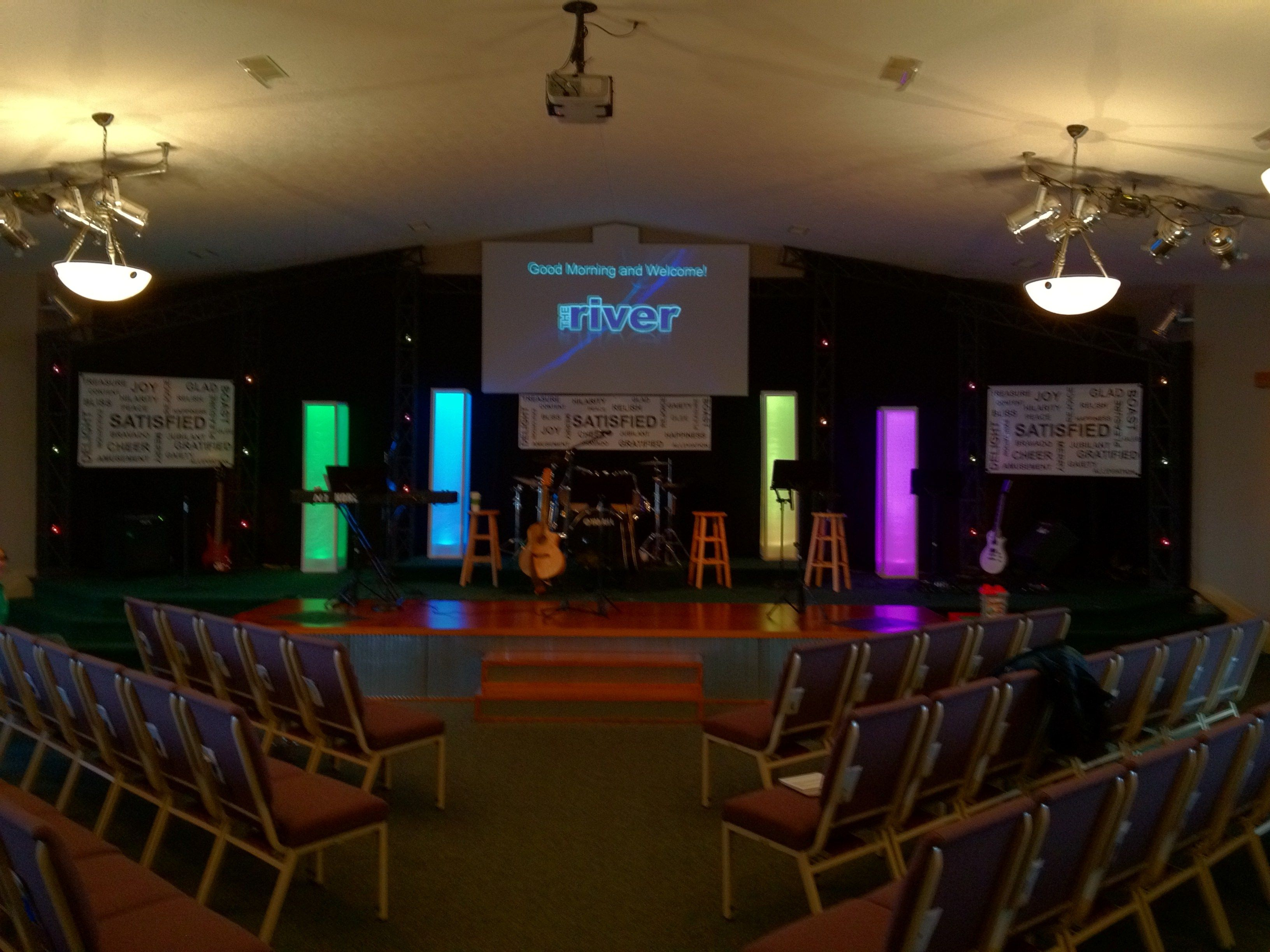 this is how you can put together light boxes for your church on a budget