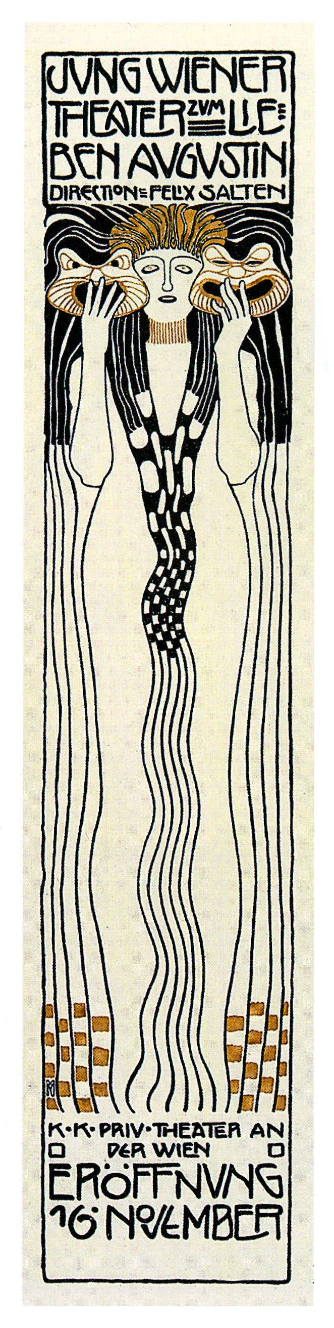 Koloman Moser(March 30, 1868 – October 18, 1918) studied at the Akademie der bildenden Künst (1886-92) and the at the Kunstgewerbeschule in Vienna (1893-95. He began as an illustrator for the art …