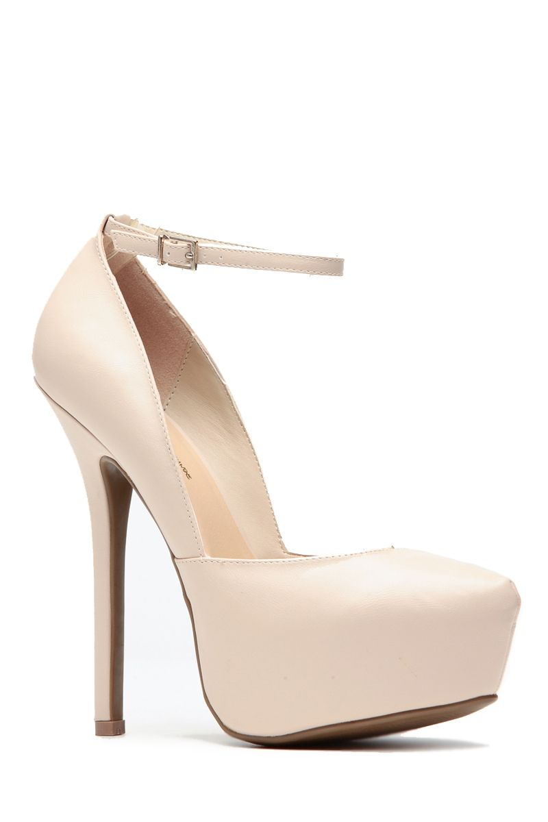 c13e1e8ae5e5 Modern Mary Jane Natural Pumps   Cicihot Heel Shoes online store  sales Stiletto Heel Shoes