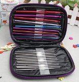 """22pc Aluminum Crochet Set Bundle Includes, 10pc Multi-colored Aluminum Needles and 12pc Silvered Needles, All Neatly Stored in the Perfect Case. And You Get the Top Selling Book, """"The Art of Crochet."""" Full of Ideas, Patterns and Tips. From Beginner to Pro, This Book Will Add to the Enjoyment of Crochet. This 2 Pc Bundle, the 22 Piece Crochet Set and the Art of Crochet Make a Great Gift, Birthday's, Holidays or for Any Reason. - http://www.johnsbooksandhobbies.com/22pc-aluminu"""