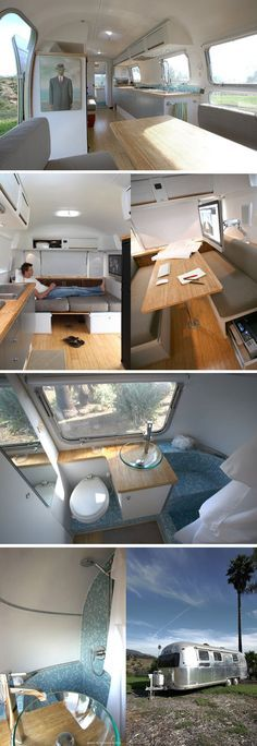 I have decided that one of my life goals is to own an airstream trailer, remodel it and then travel all over.