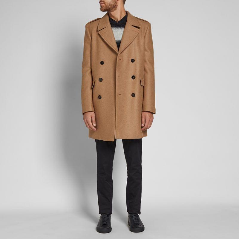 d209dd3e189 Saint Laurent Double Breasted Coat   Sartorial   Coat, Double ...