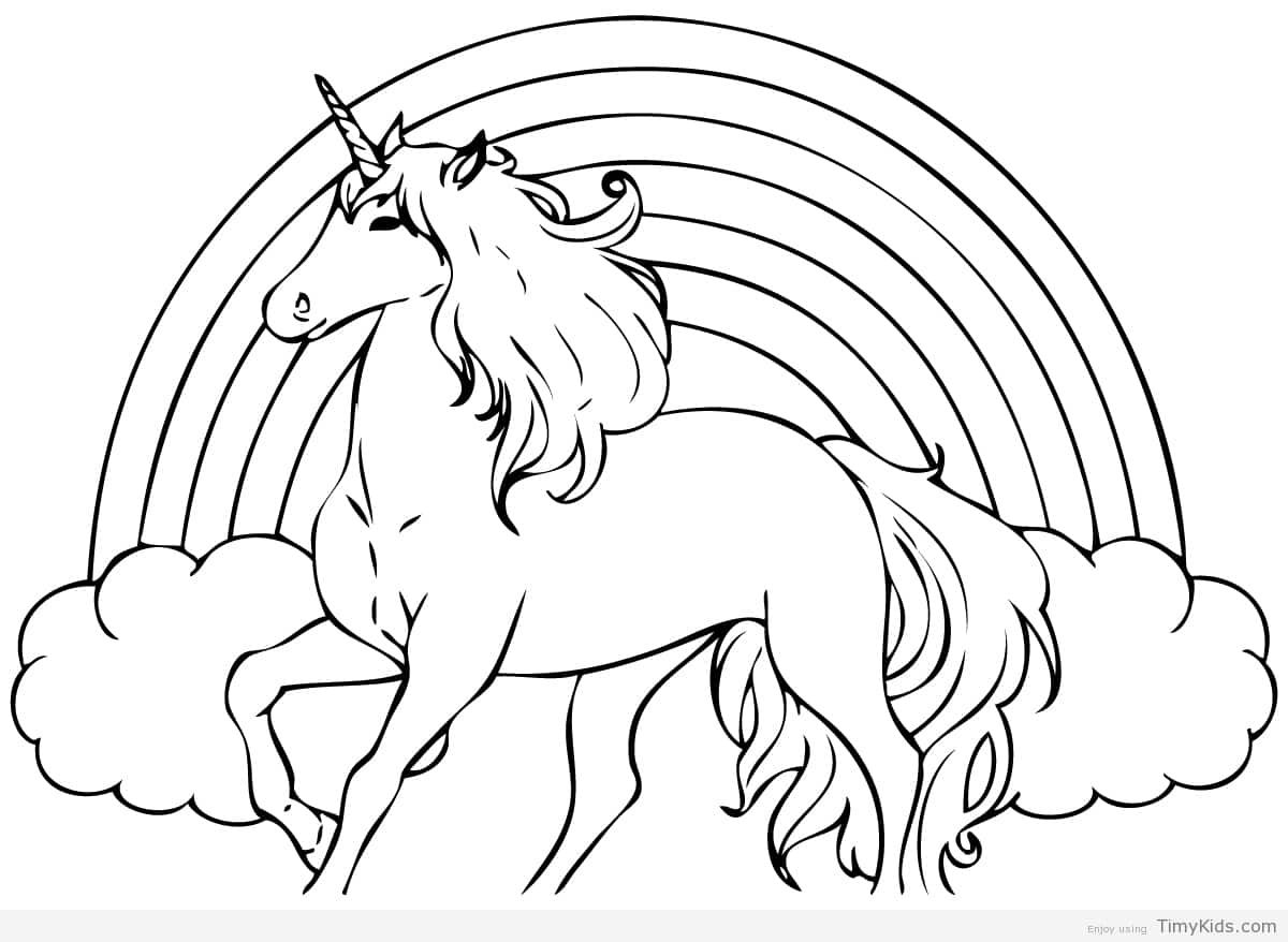 http://timykids.com/unicorn-coloring-sheet.html | Colorings ...