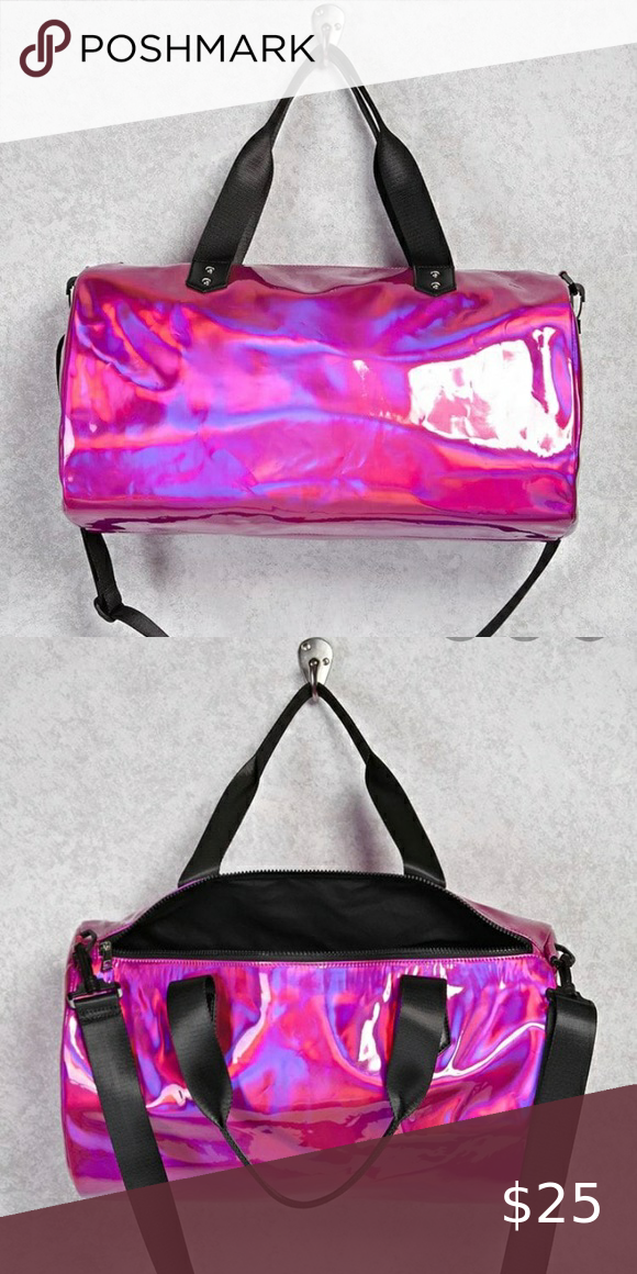 Holographic Duffle bag 💖 in 2020 Bags, Forever 21 bags