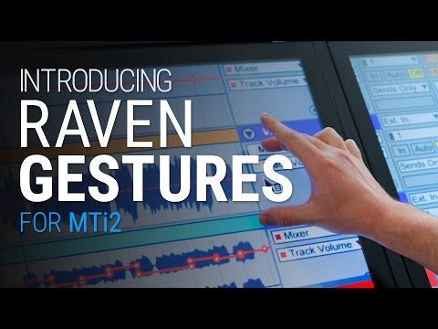 Gestures For Raven Thumb Multi Touch Slate Audio Slate