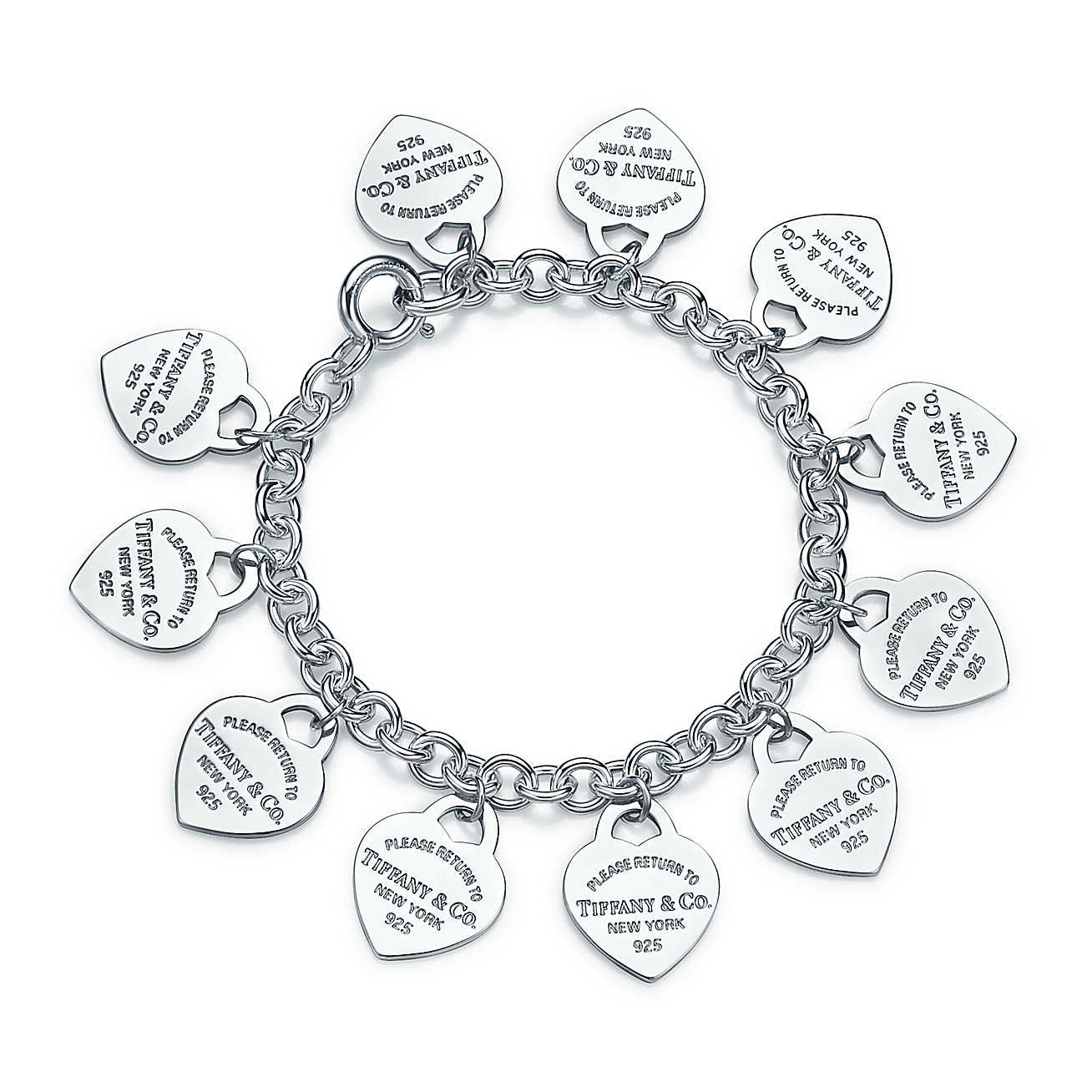 9b88a6c6c Return to Tiffany®:Multi–heart Tag Bracelet in 2019 | My make ...