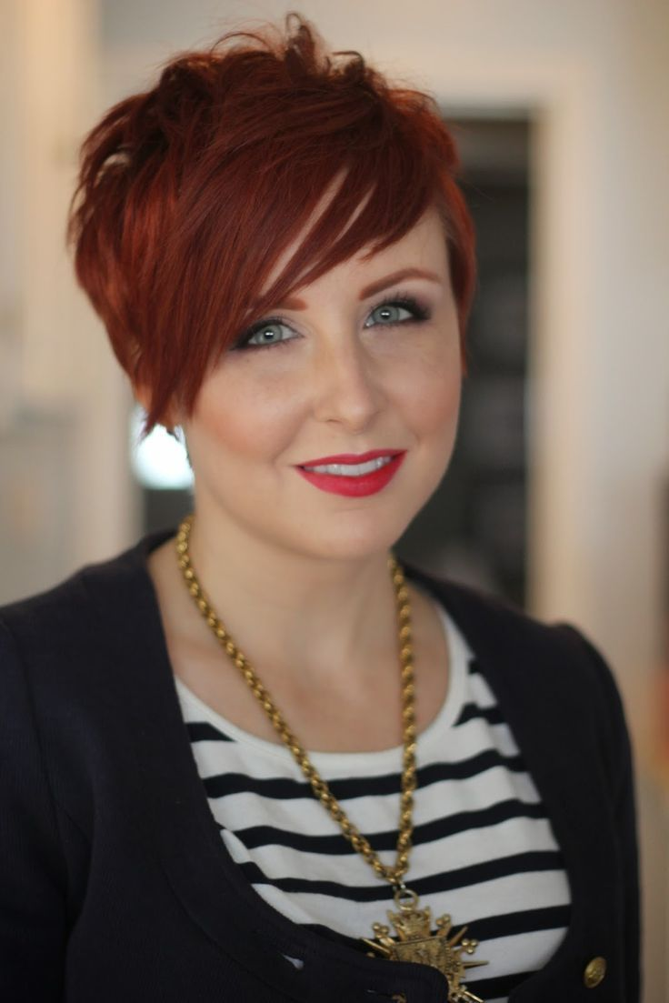 Short haircut red hair hairstyles pinterest pixies short hair