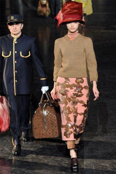 Louis Vuitton Fall 2012, Paris