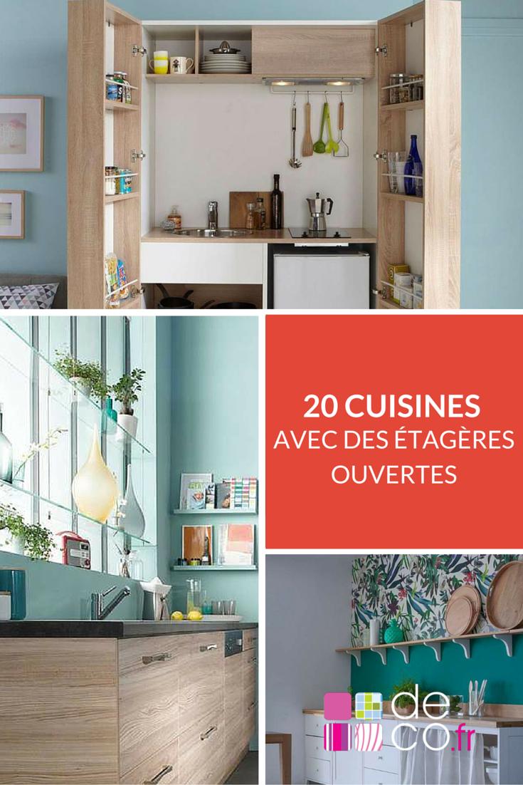 20 Cuisines Avec Des étagères Ouvertes Pour S'inspirer