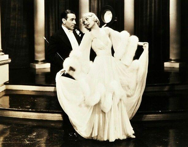 Carole Lombard and George Raft
